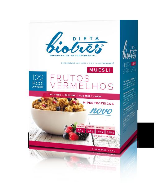 muesli frutos vermelhos dieta biotrês