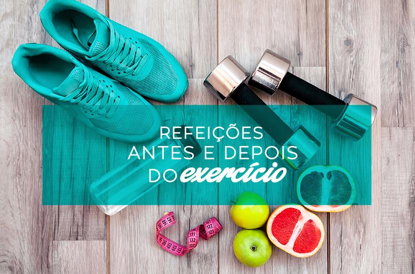 alimentação antes e depois do exercicio