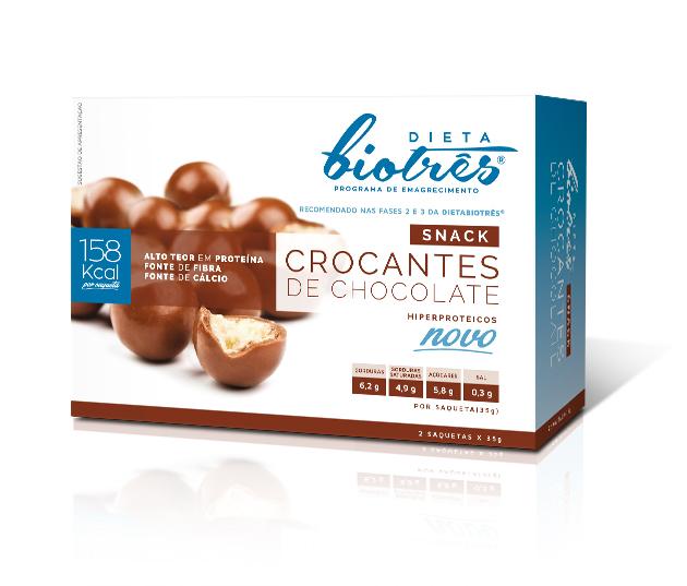 crocantes de chocolate