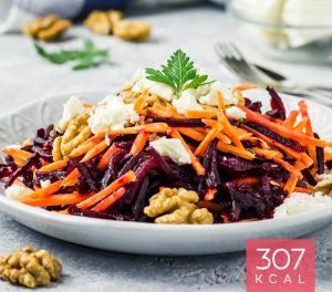 Salada Espiralizada com Requeijão