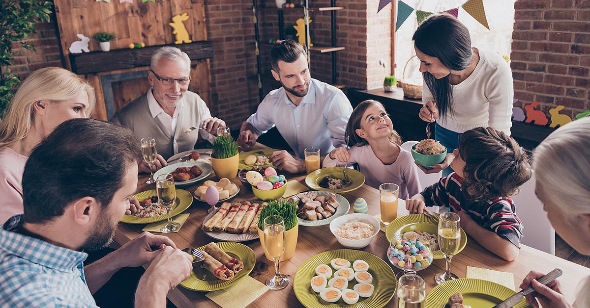 Como controlar o apetite na mesa de Páscoa