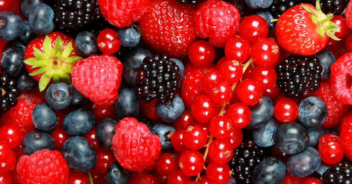 O poder dos frutos vermelhos