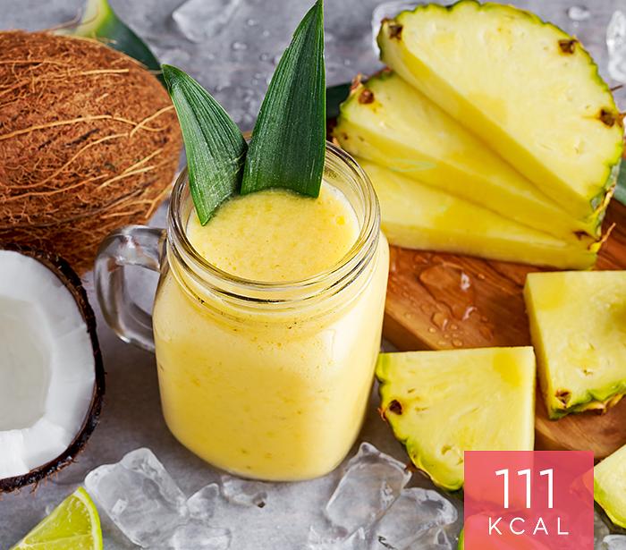 Pudim de Ananás ou Abacaxi com Lascas de Coco